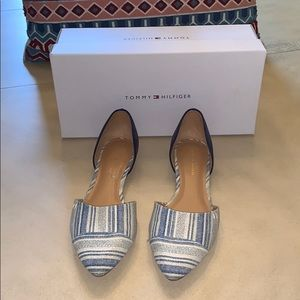 Tommy Hilfiger Flat Shoes.